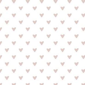 Little Hearts - mauve