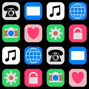 09500976 : application icons : trendy2010s