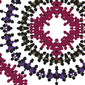 Circle Medley Jumbo Print