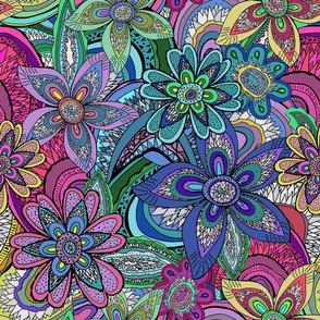 Trippy Jewel Flower Agates