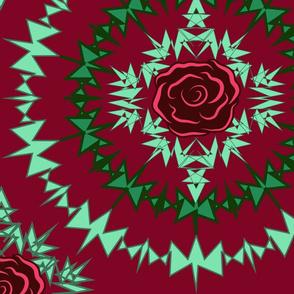 Thorn of Roses red Jumbo Print