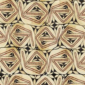 Aboriginal Tapa - Large scale