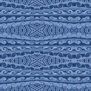blue jeans-  waves