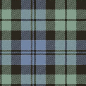 "Campbell tartan, 12"" very faded"