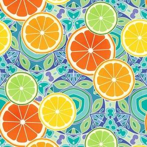 Citrus kaleidoscope