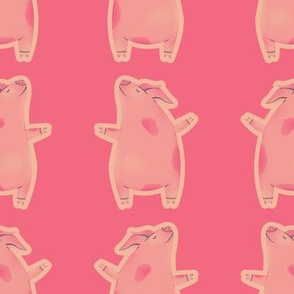 Pigs on Pink
