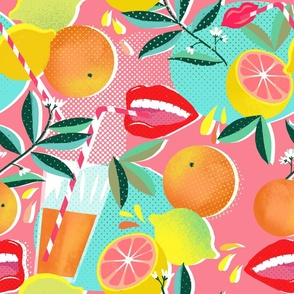 citrus pop pink