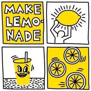 make lemonade pop art