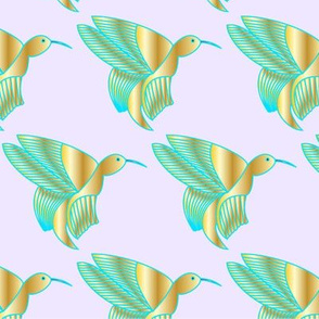 Hummingbird Haven (Rose)