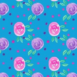 Pastel Roses Pattern