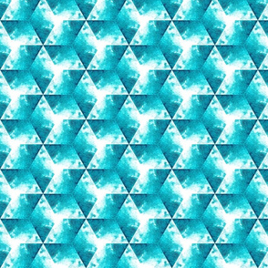 "Watercolor Cubes, 11.55"""