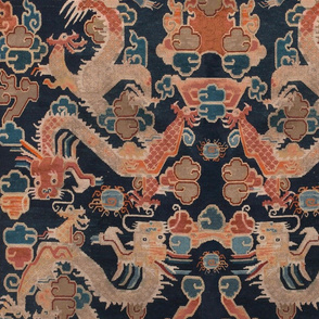 Tibetan Dragons | Deep Blue