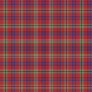 "Lovat or Fraser tartan variant, 3"" muted"
