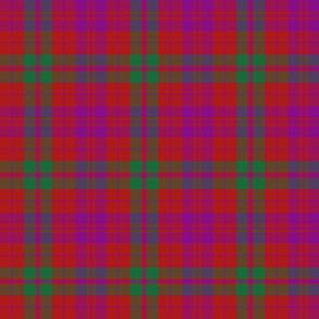 """Lovat or Fraser tartan variant, 6"""" bright"""