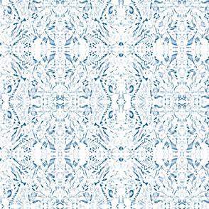 classic blue boho botanicals