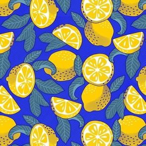 Large scale • Lemons Pop Art