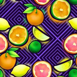 Lemonade geo violet