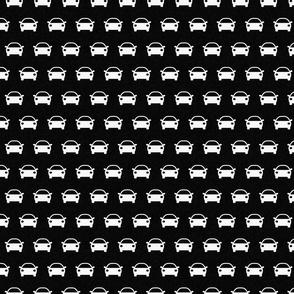 Cars on Black (Small Print)