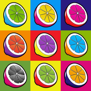 Lemons Pop Art