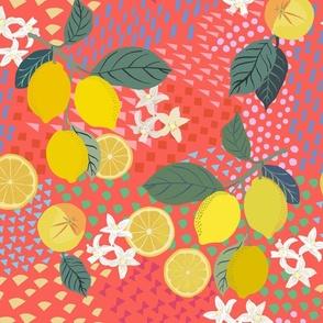 Lemon_ flower and pop