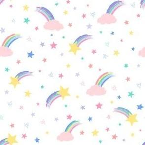 Varied and shooting stars