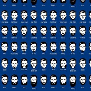 Mustachio Bashio - blue
