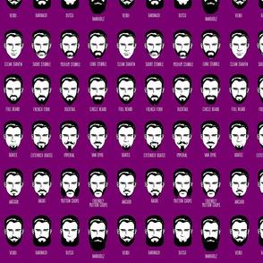 Mustachio Bashio - purple