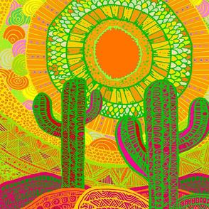 Southwest Del Sol - Desert Saguaro