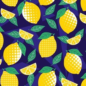 lemon pop art