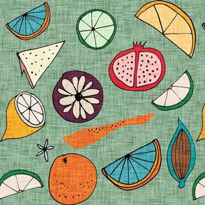 Pop Fruit Green