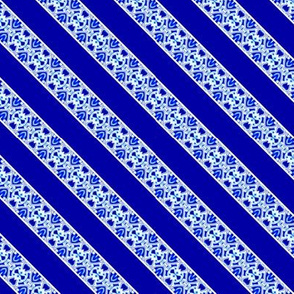 Blue and White Narrow Border Stripe On the Diagonal 1_5x1-04-150dpi