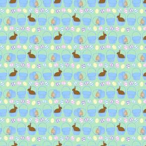 Tiny Easter coordinate - horizontal stripe