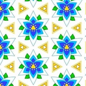 Silent Princess Triforce Vegetation Tile
