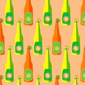 Peach Citrus Bottles Pop
