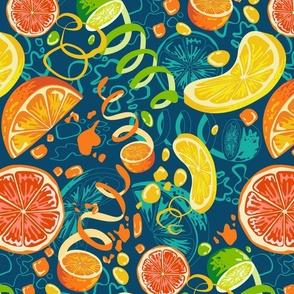Citrus pop art