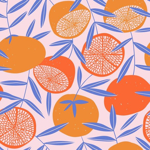 Pop art Grapefruits