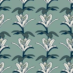 Lovely Lilium - vertically arranged - smaller