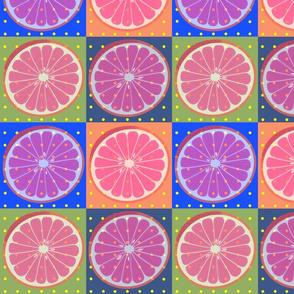 Grapefruit Pop Squares