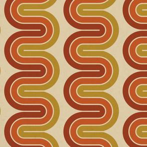 Cool Disco Swirls - Large