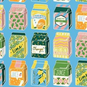 Citrus Juice Box