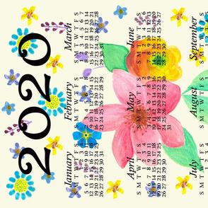 Dean & Danita's 2020 Tea Towel Calendar