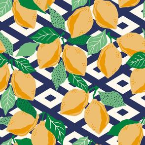 papercut lemons - yellow/medium