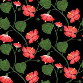 Flor de Maga - black