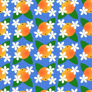 orange blossom pop blue