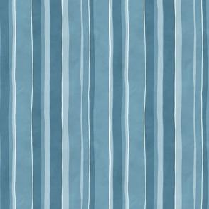 Dragon fire stripe coordinate vertical blue