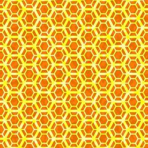 double honeycomb orange