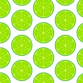 Lime Neon Citrus Tile