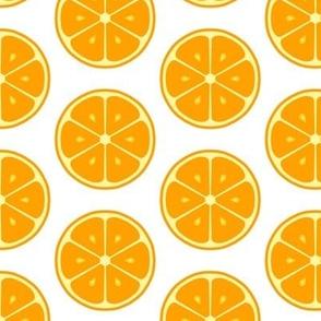 Orange Neon Citrus Tile