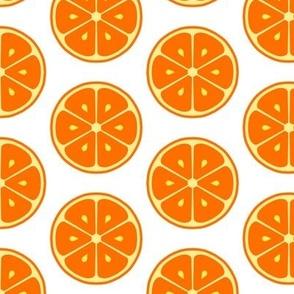 Grapefruit Neon Citrus Tile