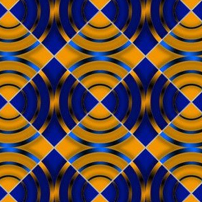 Squares With 3 Circles